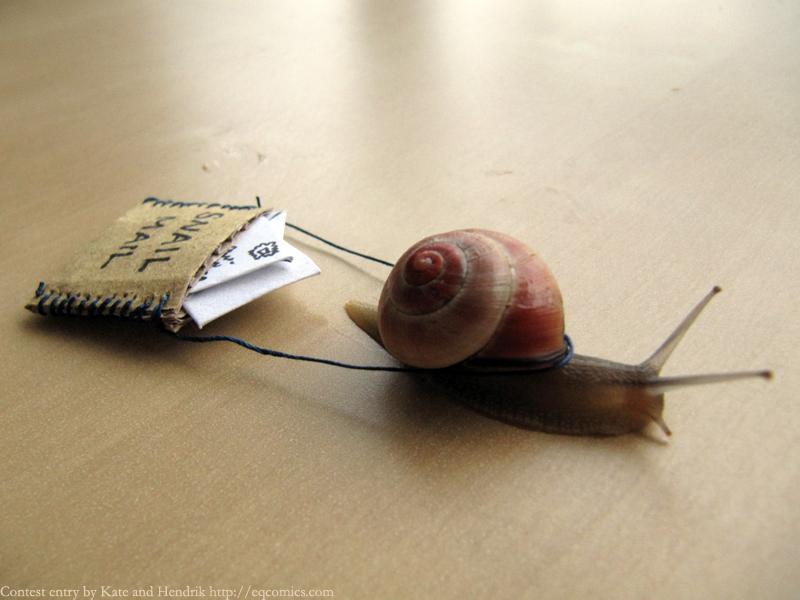 달팽이 혹사..
